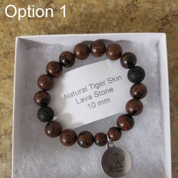The Miracle is You 8mm Bracelet