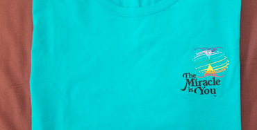 The Miracle is You Blue Tshirt